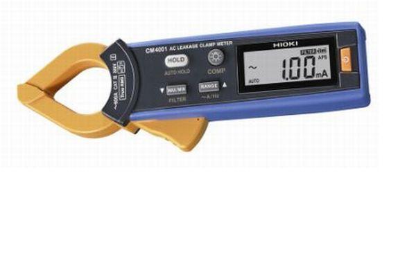 日置電機社製 新製品AC リーククランプメータ CM4001